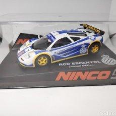 Slot Cars: NINCO MCLAREN GTR F1 RCD ESPANYOL REF. 91016. Lote 153678212