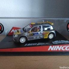 Slot Cars: RENAULT CLIO V6 DE NINCO, COSTA BRAVA.. Lote 155821670