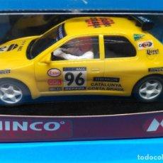 Slot Cars: NINCO PEUGEOT 306 RALLY RACC TROFEO VERSIÓN PILOTO 1996 VIP OFFICIAL DRIVER ED. LIMITADA 50 UNIDADES. Lote 158959377