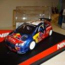 Slot Cars: NINCO. CITROEN C4 WRC. RED BULL. LOEB. FIRMADO!. REF. 50514. Lote 160316130