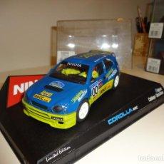 Slot Cars: NINCO. TOYOTA COROLLA WRC. RACC. COSTA BRAVA 2000. REF. 50202. Lote 216755532