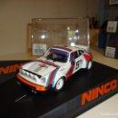 Slot Cars: NINCO. PORSCHE 911 SC MARTINI. REF. 50527. Lote 160316662