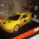 Slot Cars: NINCO. PEUGEOT 307 WRC GRONHOLM. EFECTO BARRO. REF. 50367. Lote 160316690