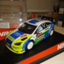 Slot Cars: NINCO. FORD FOCUS WRC. WALLES RALLY GB 2006. REF. 50439. Lote 160316722