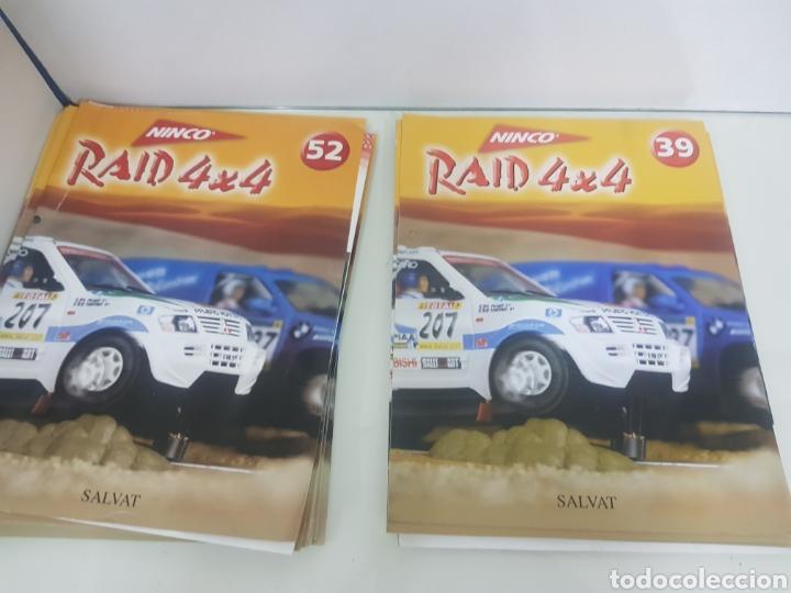 COLECCIÓN RIDE 4X4 NINCO DAKAR DEL NÚMERO 38 AL 47 Y DEL 52 AL 72 SALVAT (Juguetes - Slot Cars - Ninco)