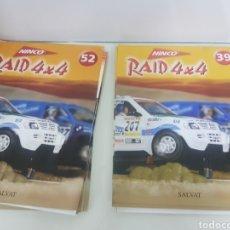 Slot Cars: COLECCIÓN RIDE 4X4 NINCO DAKAR DEL NÚMERO 38 AL 47 Y DEL 52 AL 72 SALVAT. Lote 160969992