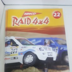 Slot Cars: NINCO RAID 4X4 FASCÍCULOS DEL 22 AL 36 EDITORIAL SALVAT. Lote 160970666