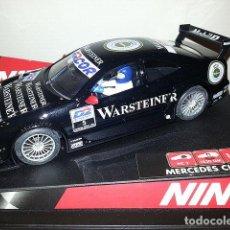 Slot Cars: NINCO 50253 MERCEDES CLK DTM WARSTEINER Nº 5. Lote 162314594