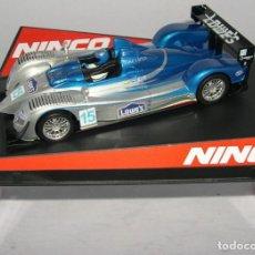 Slot Cars: ACURA LMP LOWES NINCO REF 50515. Lote 162797730
