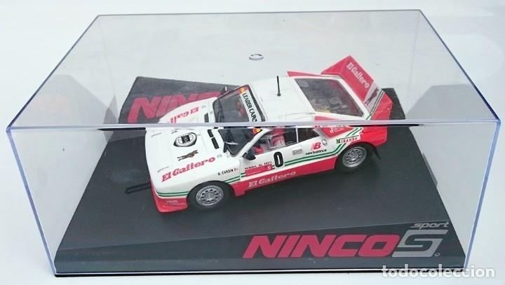 NINCO SLOT R 50618 LANCIA 037 EL GAITERO COMPETICIÓN B CARDIN SUBIDA AL FITO 2007 N 0 / PRECINTADO (Juguetes - Slot Cars - Ninco)