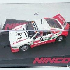 Slot Cars: NINCO SLOT R 50618 LANCIA 037 EL GAITERO COMPETICIÓN B CARDIN SUBIDA AL FITO 2007 N 0 / PRECINTADO. Lote 56216350