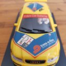Slot Cars: COCHE SCALEXTRIC AUDI A4 AMARILLO Nº19 DEL PILOTO NISSEN REF.50138 DE 1997. Lote 164203518