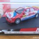 Slot Cars: COCHE SCALEXTRIC AUDI A4 DHL ROJO DE 1997 REF.50DHL. Lote 164204190