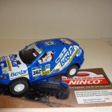 Slot Cars: NINCO. BMW X5 ISOSTAR. ED. ESP. BAJA ARAGON 2005 . Lote 166054650
