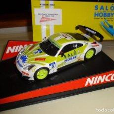 Slot Cars: NINCO. NISSAN 350Z. SALO DEL HOBBY. REF. 50433. Lote 216755506