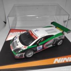 Slot Cars: NINCO LAMBORGHINI GALLARDO TEAM S BERG REF. 50499. Lote 166493134