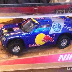 Slot Cars: NINCO 50380 VOLKSWAGEN TOUAREG DAKAR' 05. Lote 166571762