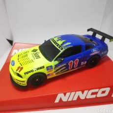 Slot Cars: NINCO 1 FORD MUSTANG SUN REF. 55087. Lote 166639230