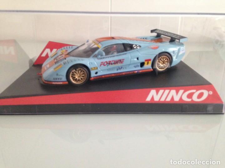 SLOT, NINCO 50428, MOSLER MT900 R Nº9, GULF (Juguetes - Slot Cars - Ninco)