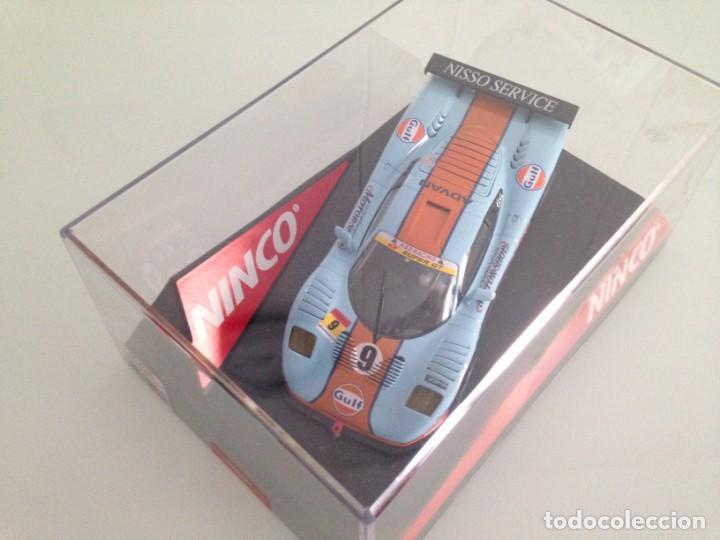Slot Cars: SLOT, NINCO 50428, MOSLER MT900 R Nº9, GULF - Foto 2 - 167196140