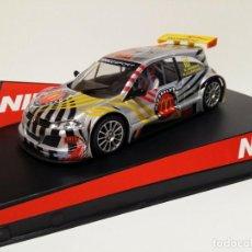 Slot Cars: NINCO 50452 RENAULT MEGANE MCDONALDS. Lote 167463368
