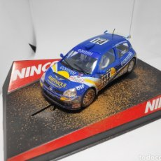 Slot Cars: NINCO RENAULT CLIO SUPER 1600 GO BARRO REF. 50313. Lote 167561309