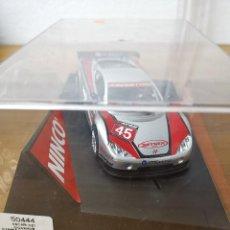 Slot Cars: COCHE SCALEXTRIC DE LA MARCA NINCO ASCARI KZ1 GIGAWAVE PLATA REF.50444. Lote 167972164