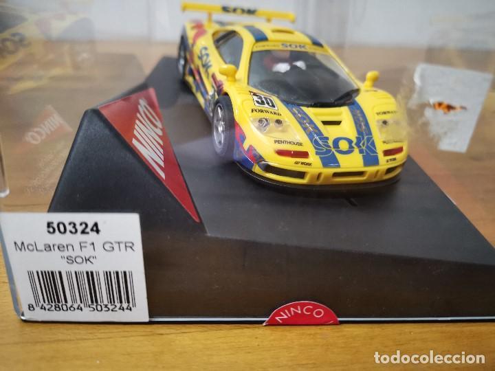 COCHE SCALEXTRIC MCLAREN F1 GTR SOK DE LA MARCA NINCO REF.50324 (Juguetes - Slot Cars - Ninco)