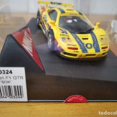 Slot Cars: COCHE SCALEXTRIC MCLAREN F1 GTR SOK DE LA MARCA NINCO REF.50324. Lote 167984584
