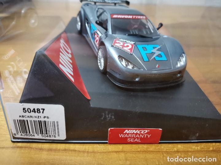 Slot Cars: Coche scalextric Ninco Ascari Kz1 Ps ref.50487 - Foto 5 - 167987080