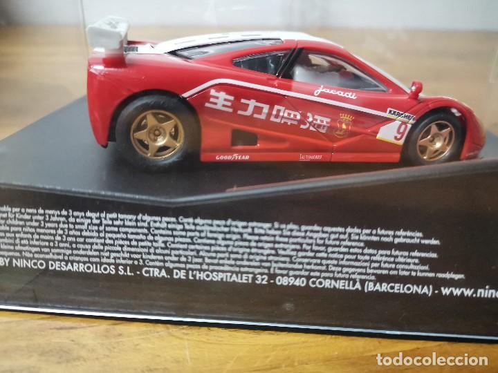 Slot Cars: Coche slot scalextric de la marca Ninco McLaren F1 GTR Zhuhai ref.50435 - Foto 5 - 167995744