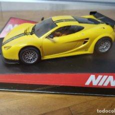 Slot Cars: COCHE SLOT SCALEXTRIC DE NINCO ASCARI KZ1 10º ANIVERSARIO REF.50458. Lote 167998732