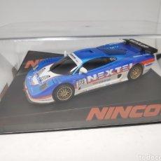 Slot Cars: NINCO MOSLER MT900R DUNLOP LIGHTENED REF. 50545. Lote 168921274