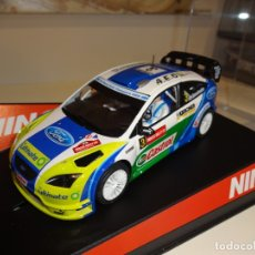 Slot Cars: NINCO. FORD FOCUS WRC. WALLES RALLY. ED. ESP. A.E.O. SPORT. Lote 169435364