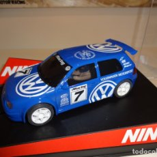 Slot Cars: NINCO. VW GOLF. ED. ESP. A.E.O. SPORT. Lote 169435616