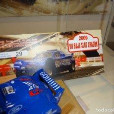Slot Cars: NINCO. SCHLESSER GO! . ED. ESP. VII BAJA ARAGÓN 2009. . Lote 169438788
