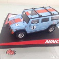 Slot Cars: SLOT, NINCO 50489, HUMMER H2 Nº1, GULF. Lote 169449900