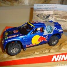 Slot Cars: NINCO. VW TOUAREG. RED BULL. ED. ESP. IV BAJA SLOT ARAGON 2006. Lote 169465424