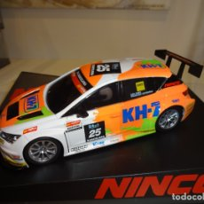 Slot Cars: NINCO. SEAT LEON CUP RACER KH-7. REF. 50656. Lote 170026480