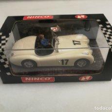 Slot Cars: JAGUAR NINCO, TIPO SCALEXTRIC. A ESTRENAR . Lote 173563122