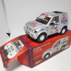 Slot Cars: NINCO MITSUBISHI PAJERO PS2 SALVAT. Lote 174382385