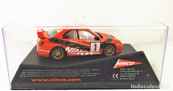 Slot Cars: Ninco Club SUBARU Nº 1 - Foto 5 - 174444078