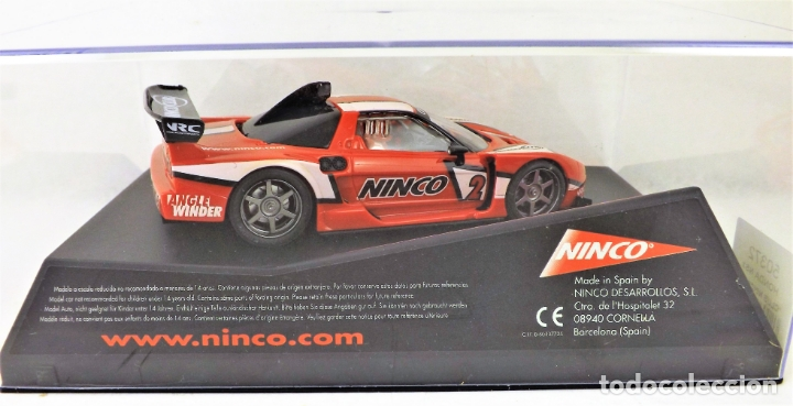 Slot Cars: Ninco Club HONDA NSX 50372 - Foto 5 - 174444163