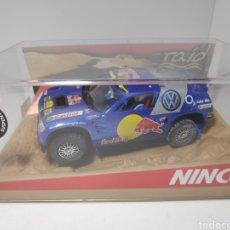 Slot Cars: NINCO VOLKSWAGEN TOUAREG DAKAR'05 REF. 50380. Lote 174675162