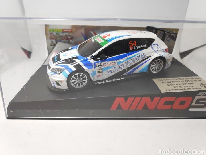 NINCO SEAT LEON X OPEN RODAMON SLOT SURIA 2015 REF. 50657 (Juguetes - Slot Cars - Ninco)