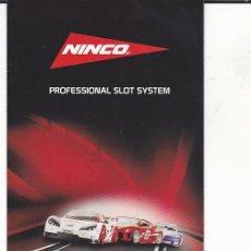 Slot Cars: CATALOGO NINCO . Lote 175682830
