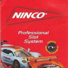 Slot Cars: CATALOGO NINCO . Lote 175685402