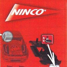 Slot Cars: CATALOGO NINCO . Lote 175784540