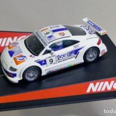 Slot Cars: AUDI TT BELCAR NINCO REF 50327. Lote 183197836