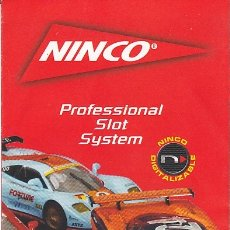 Slot Cars: CATALOGO NINCO. Lote 176051415